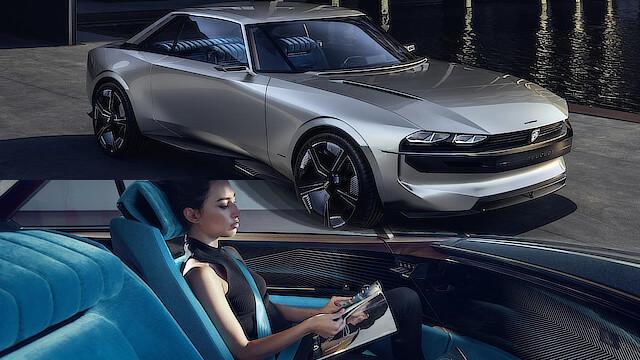 Peugeot E-Legend Concept : véhicule électrique autonome 1