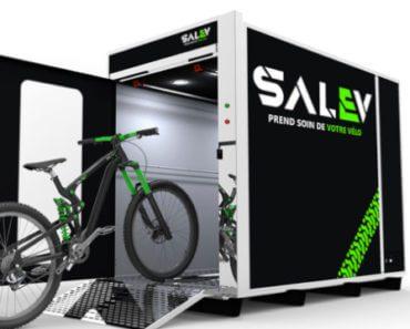 Salev : solution automatisée de lavage écologique de vélos 1