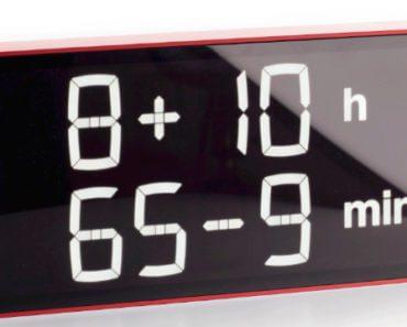 Albert Clock : horloge digitale pour faire du calcul mental 1
