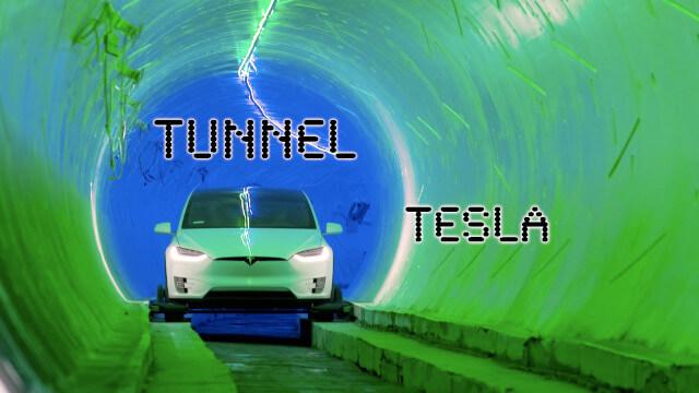 Tunnel Tesla pour révolutionner les transports urbains 1