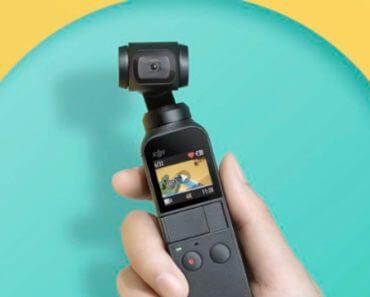 DJI Osmo Pocket : nacelle caméra stabilisée 5