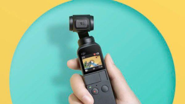 DJI Osmo Pocket : nacelle caméra stabilisée 1