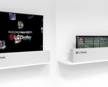 LG OLED TV enroulable 3