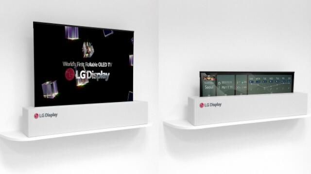 LG OLED TV enroulable 1