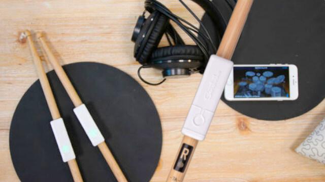 Senstroke : jouer de la batterie partout sans bruit 1