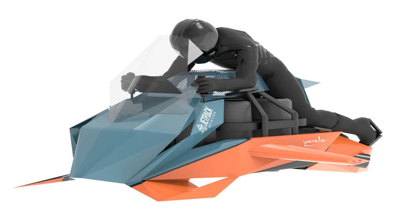 Jetpack Speeder : moto volante 1