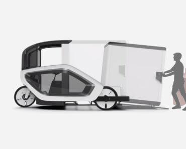 Ono : vélo-cargo électrique pour la livraison de colis 1