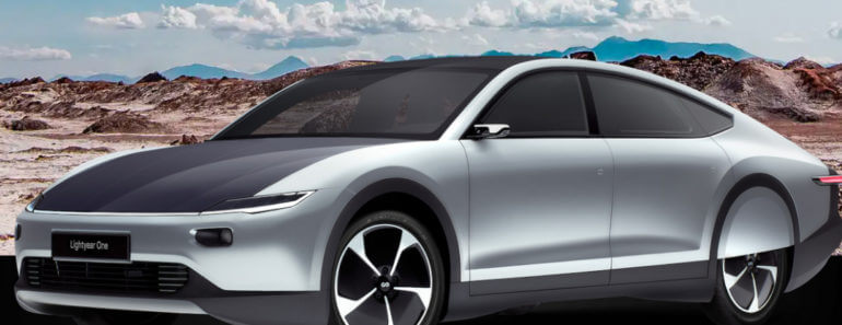 LightYear One : voiture electrique solaire 1