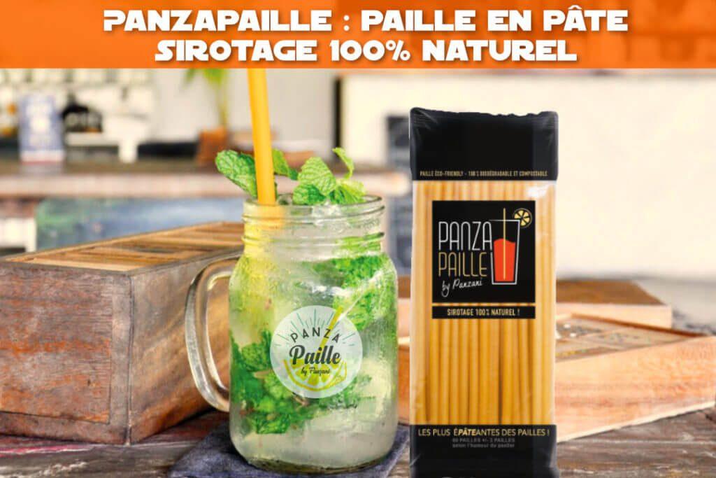 Panzapaille : la paille en pâte 100% naturelle