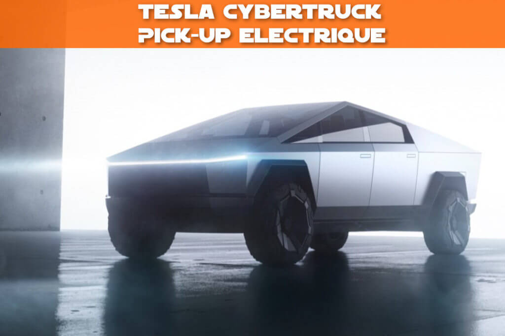 CyberTruck pick-up électrique Tesla