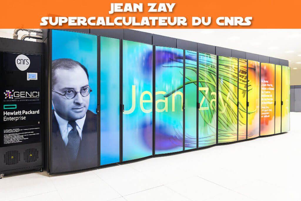 Jean Zay, le supercaculateur du CNRS dédié à l'IA