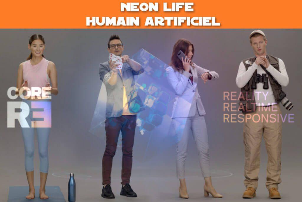 neon humain artificiel Samsung