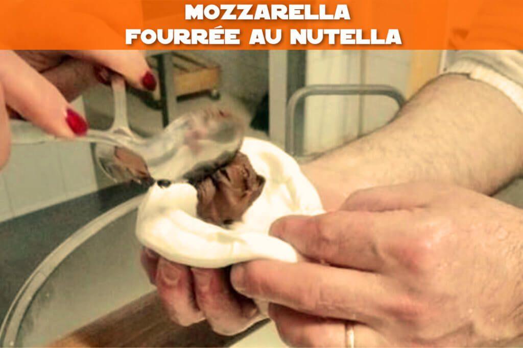 mozzarella au nutella