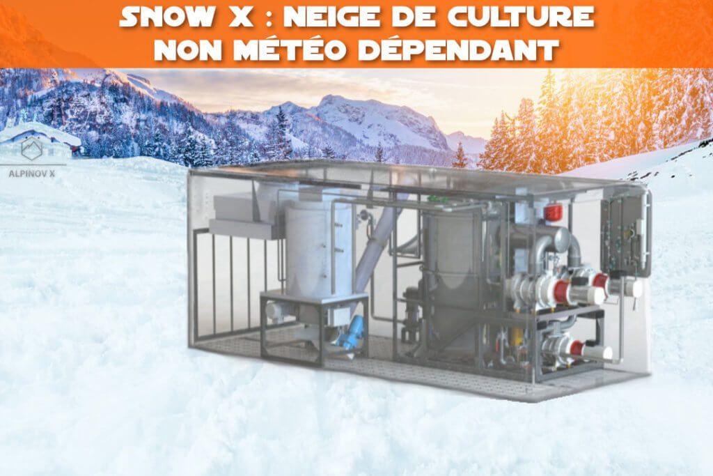 snow x : neige de culture