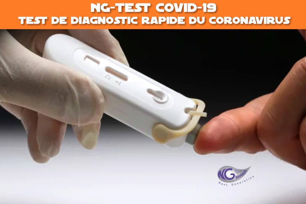 NG-Test covid-19 : test de diagnostic rapide du coronavirus (test serologique)