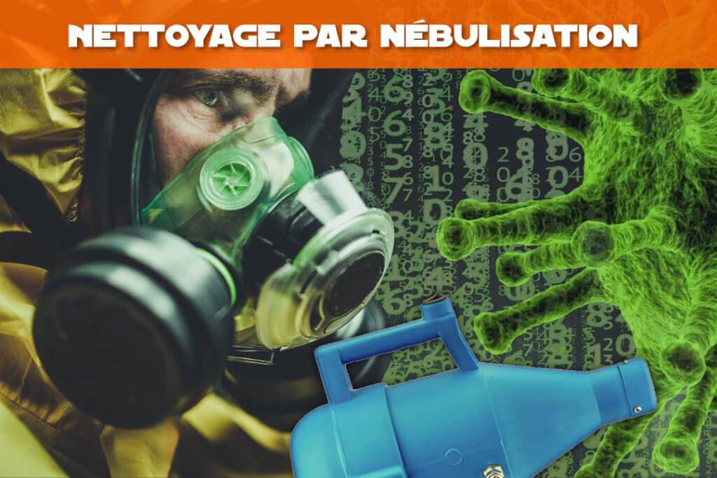 nettoyage desinfection par nebulisation