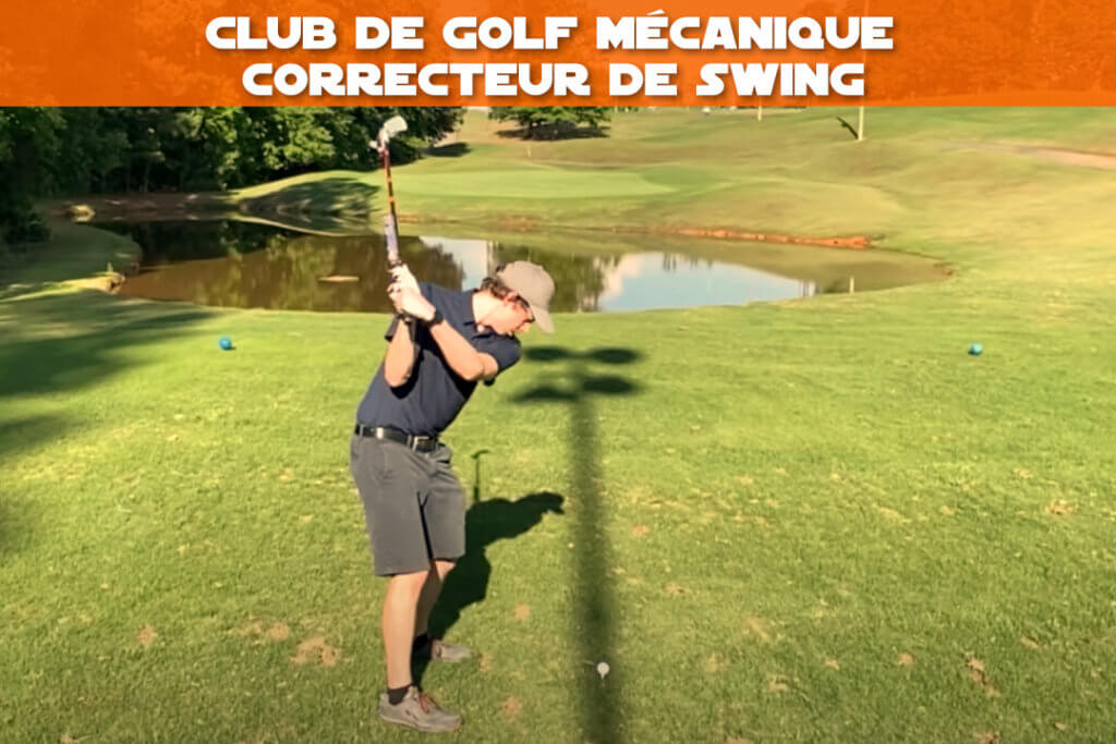 club de golf mecanique correcteur de swing