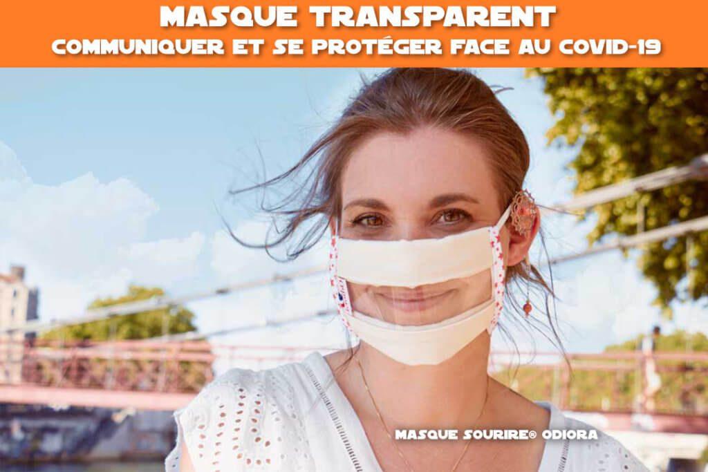 masque transparent : communiquer et se proteger face au covid-19