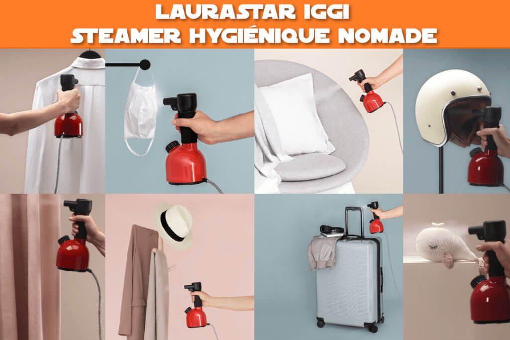Laurastar Iggi : Steamer hygiénique nomade