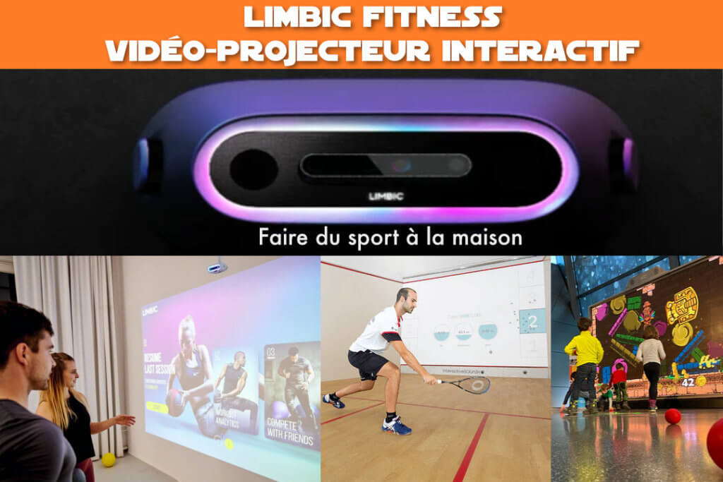 Limbic fitness : vidéo projecteur interactif (faire du sport à la maison)