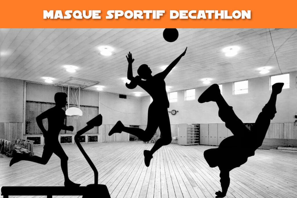 masque sportif Decathlon