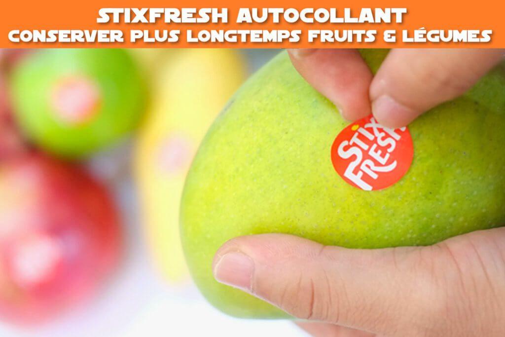 StixFresh : conserver plus longtemps fruits & légumes